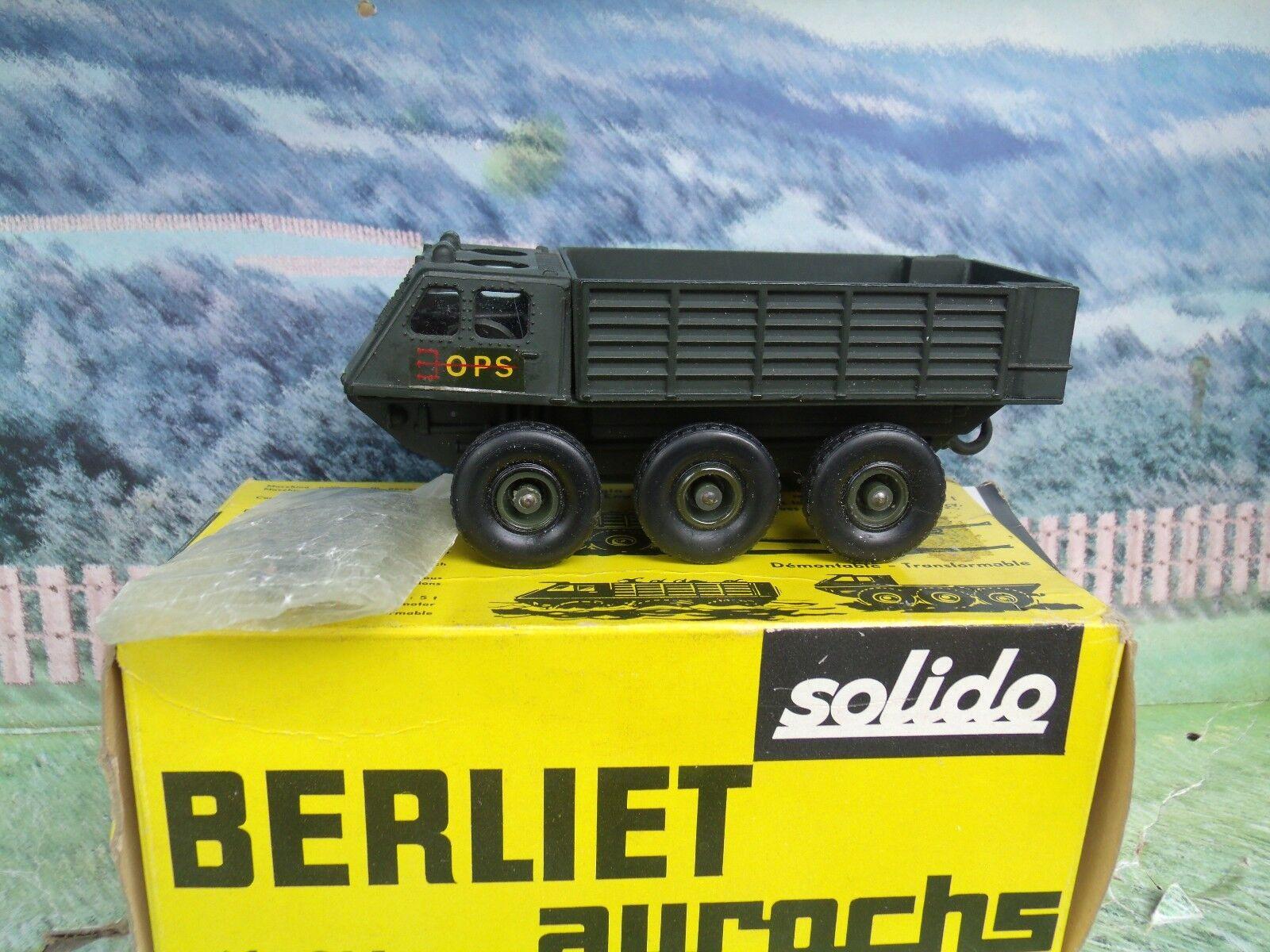 1 50 Solido (France)  Berliet  aurochs    214