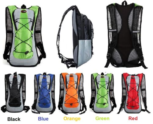 Light Backpack Cycling Running Hiking New Rucksack Great for Water Bladder