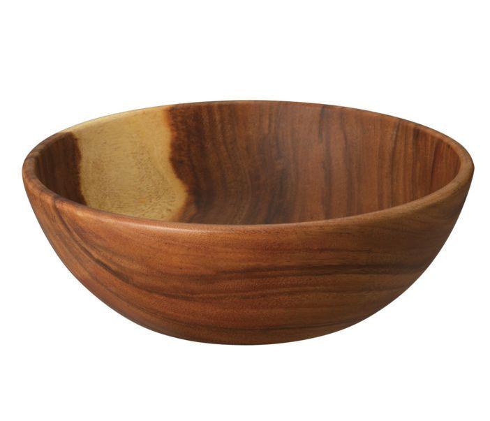 Nouveau Muji Cuisine Plat Bois Bol Large 30 cm Natural Acacia F S du Japon Serving Bowl