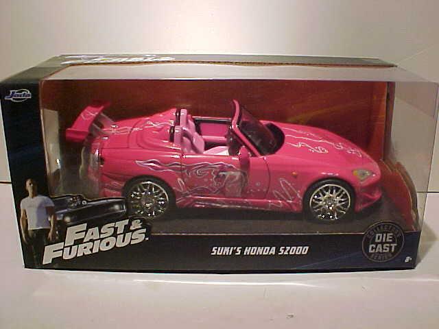 JADA Fast And Furious Suki/'s Honda S2000 1:24 Diecast Car