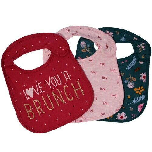 Multiple Designs Sets /& Singles New Baby Bibs Cotton