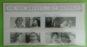 2006-GB-STAMP-PRESENTATION-PACK-No-383-039-QUEEN-039-S-80th-BIRTHDAY-039