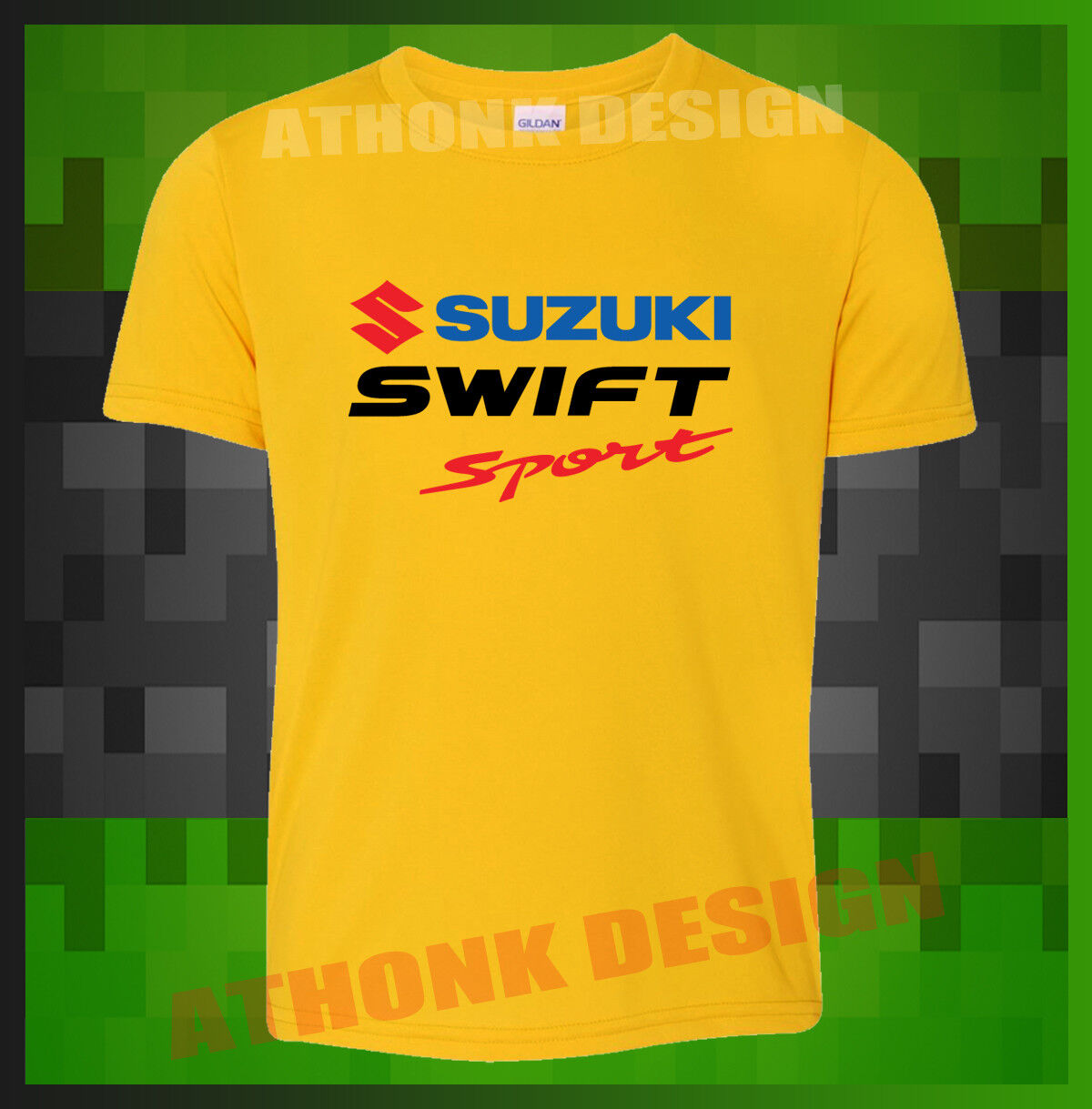 /'Suzuki Swift/' Men/'s Funny T-shirt /'They say Money can/'t buy Happiness.../'