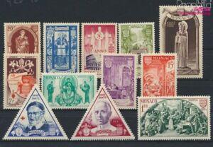 Monaco-429-440-kompl-Ausg-postfrisch-1951-Heiliges-Jahr-9213098