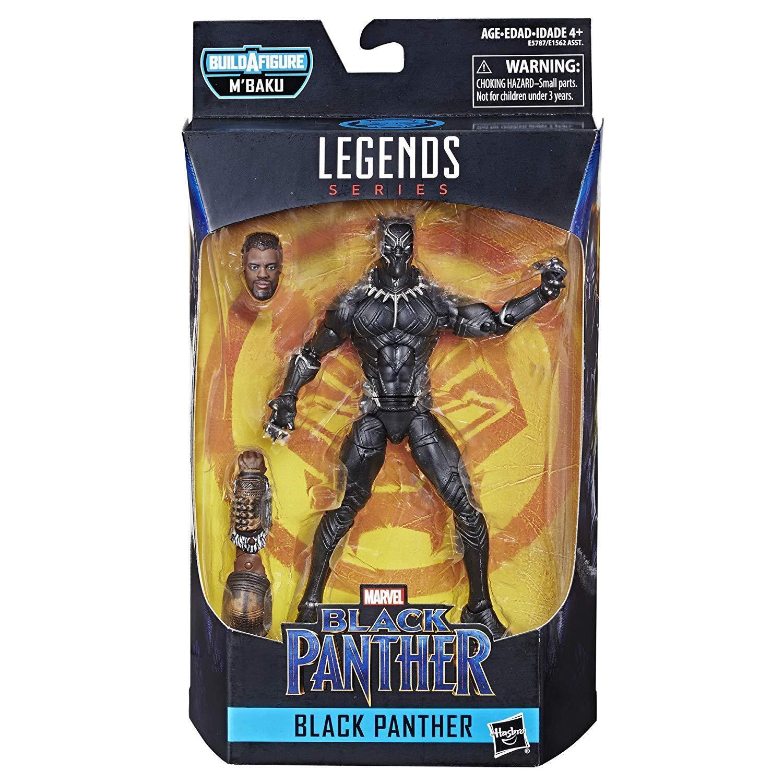 Marvel Legends BLACK PANTHER Unmasked Wave 2 6in Action Figure BAF M/'BAKU Hasbro