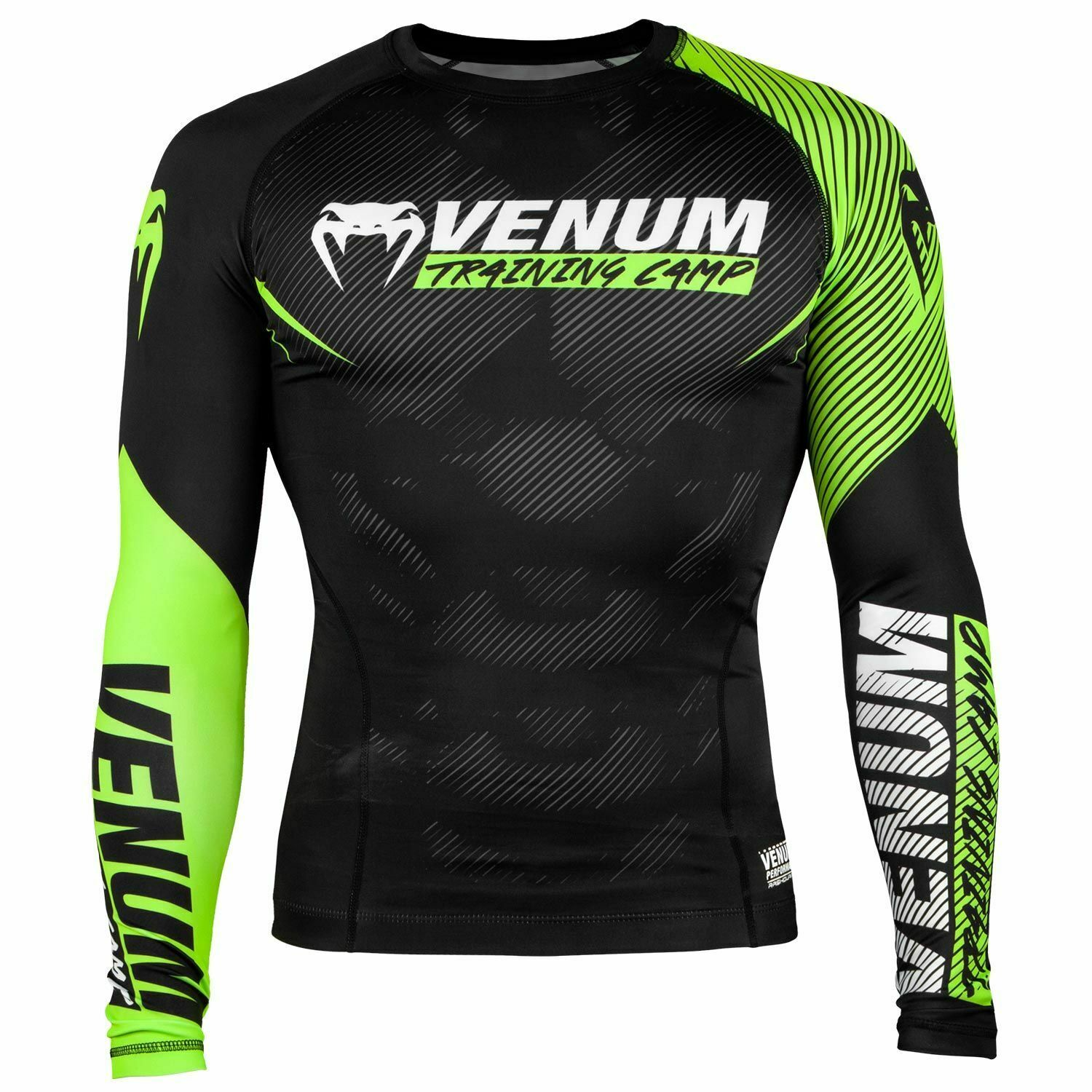 Venum tuttienamento Camp 2.0 Rash Guard uomoica Lunga No Gi Bjj Mma Grappling Jiu