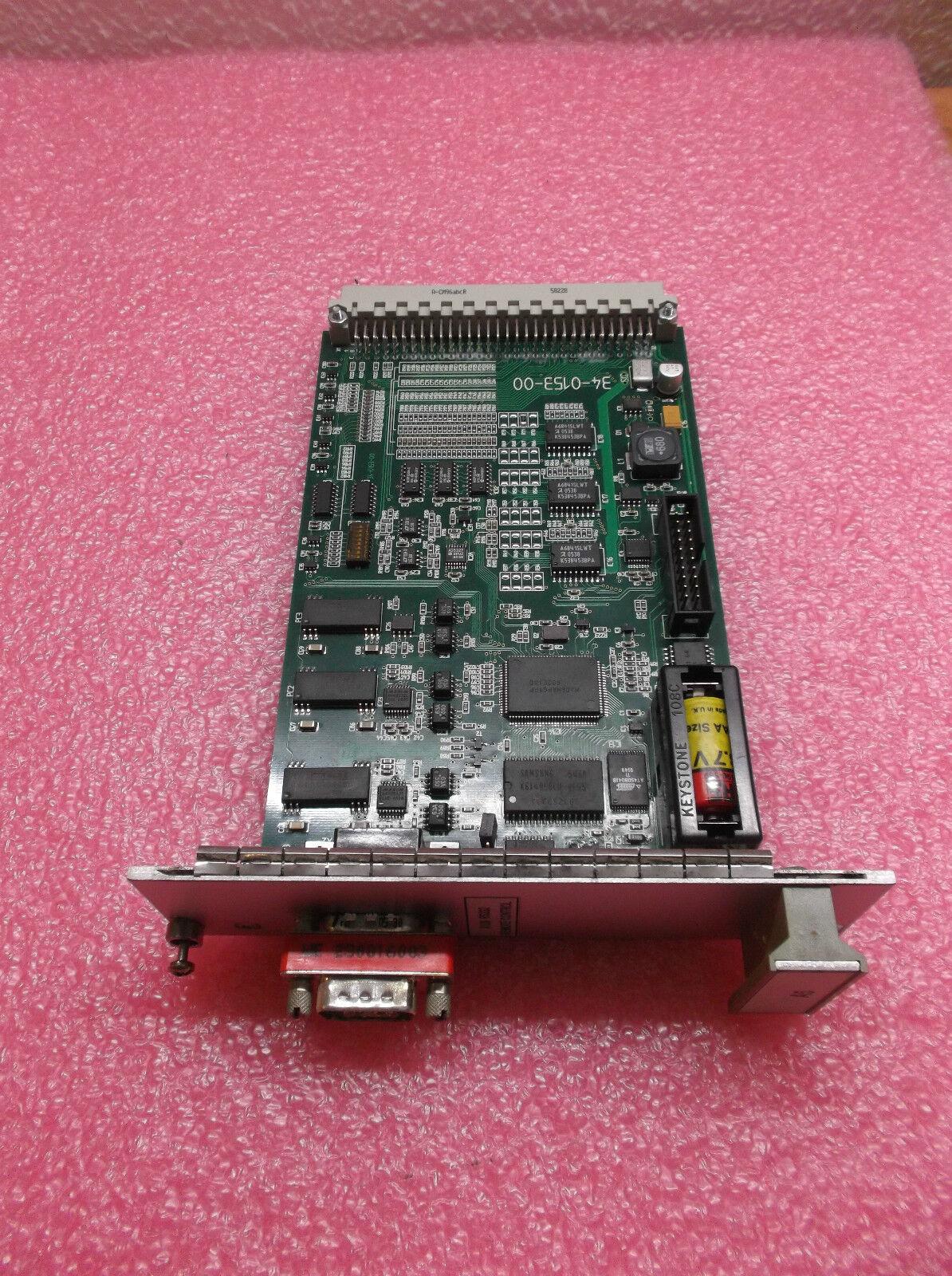 X126 RS232 Remote Control A5 34-0153-00