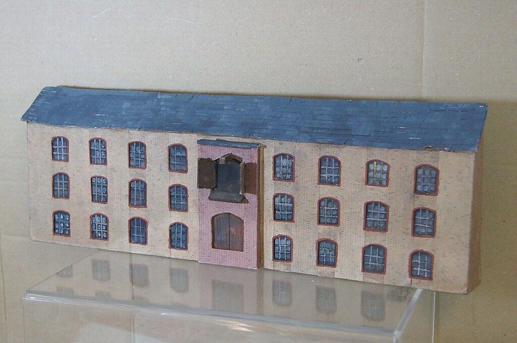 Hornby Bachuomon Lima Oo Kit Costruito Vittoriano Factory Factory Factory Mulino Sfondo modellolo 3ff2ea