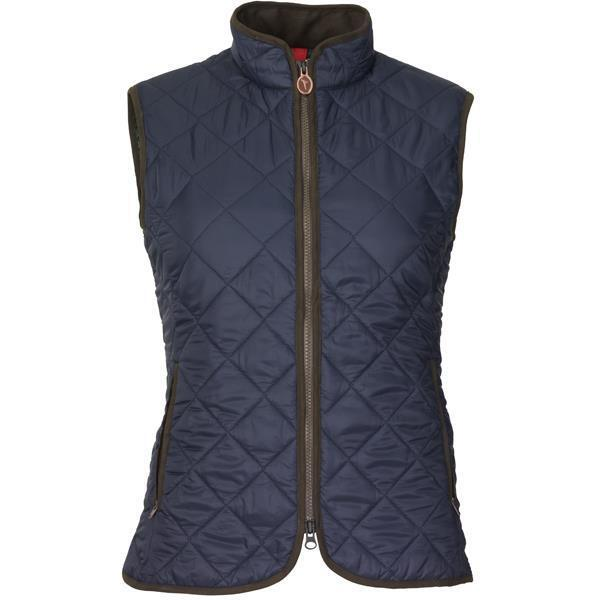 Ladies Laksen Audley Quilted Gilet - Navy - all sizes - new