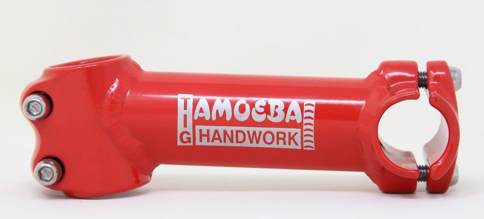 AMOEBA JY-905-6 RACING AHEAD STEM 120MM 1  CLAMP 25,4 RED - NOS