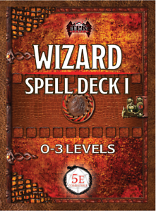 Details about Wizard Spell Deck I (0th - 3rd) DnD Dungeons Dragons RPG