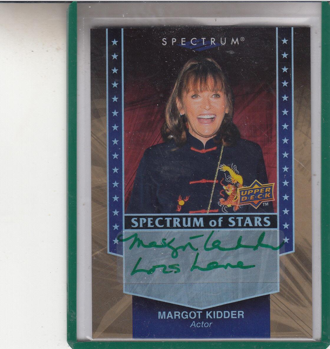 2008 u. d. spectrum of stars margot Enfantder  lois lane autograph inscribed