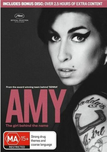 1 of 1 - Amy: The Girl Behind The Name (DVD, 2015) // 2 Disc Set
