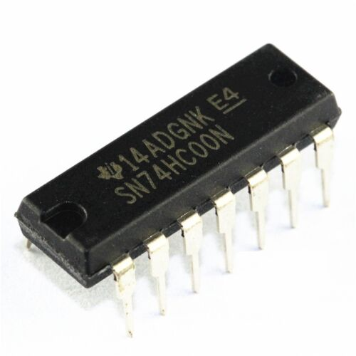 10pcs SN74HC00N 74HC00N IC QUAD 2-INPUT NAND GATE 14-DIP