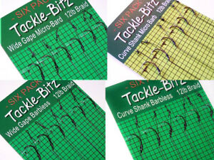 18-Fishing-Tackle-Carp-hair-rigs-Choice-of-Hook-size-swivels-lead-weights-clips