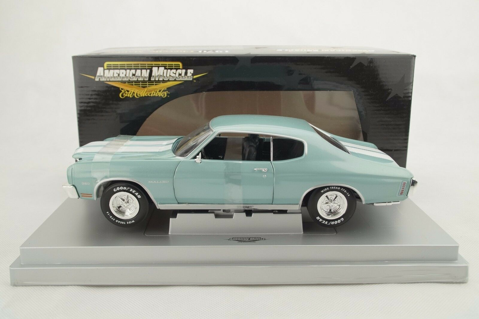1 18 ERTL Elite - 1970 Chevelle Malibu MINT verde-Lmtd. ed. - Rarità-Nuovo Scatola Originale