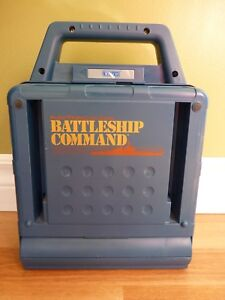 Vintage-Vtech-FRENCH-Electronic-Talking-Battleship-Command-Game-W-Instructions