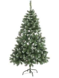 Albero-di-Natale-innevato-150cm-con-stand-7cm-Christmas-Gifts