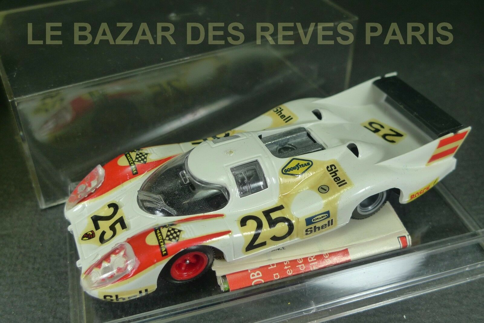 SUPER CHAMPION. PORSCHE 917 longue. Le Mans. (Elford Ahrens)  REF  52 + boite.