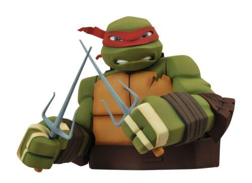 Diamond Select Toys Teenage Mutant Ninja Turtles RAPHAEL Bust Bank Teenage Mutant Ninja Turtles