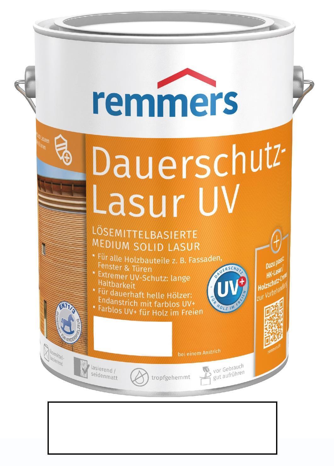 Remmers Langzeit-Lasur UV Weiß 5 l NEUWARE