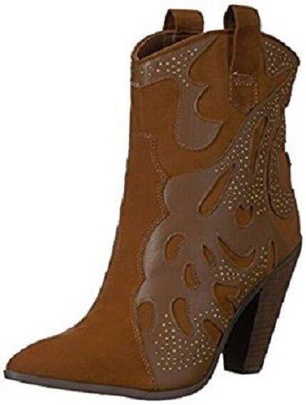 Carlos by Carlos Santana Women's Sterling Fashion Western Boot Bourbon