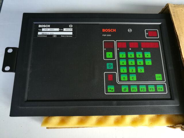 Bosch Bedienterminal PSP 2000, Bosch PSP 2000, PSP2000