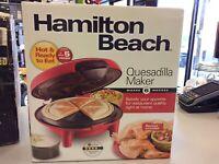 Hamilton Beach Quesadilla Maker BRAND NEW! Mississauga / Peel Region Toronto (GTA) Preview