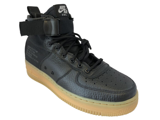 Nike Special Field Air Force 1 Mid Black | AA7345 001 | The