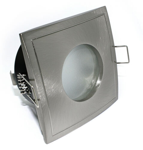 Quadratischer LED Bad-Strahler Spot IP65 Kamilux K92146-S GU10 5 Watt = 50 Watt