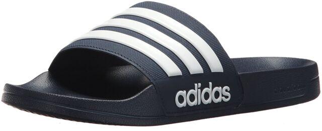 Hombres adidas adilette neo CF adilette adidas Slide Sandal aq1703 Collegiate Navy / White 923b77