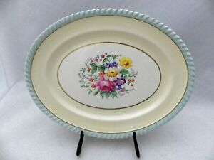 Johnson-Bros-Windsor-Ware-Oval-Serving-Platter-10-1-2-034-EUC