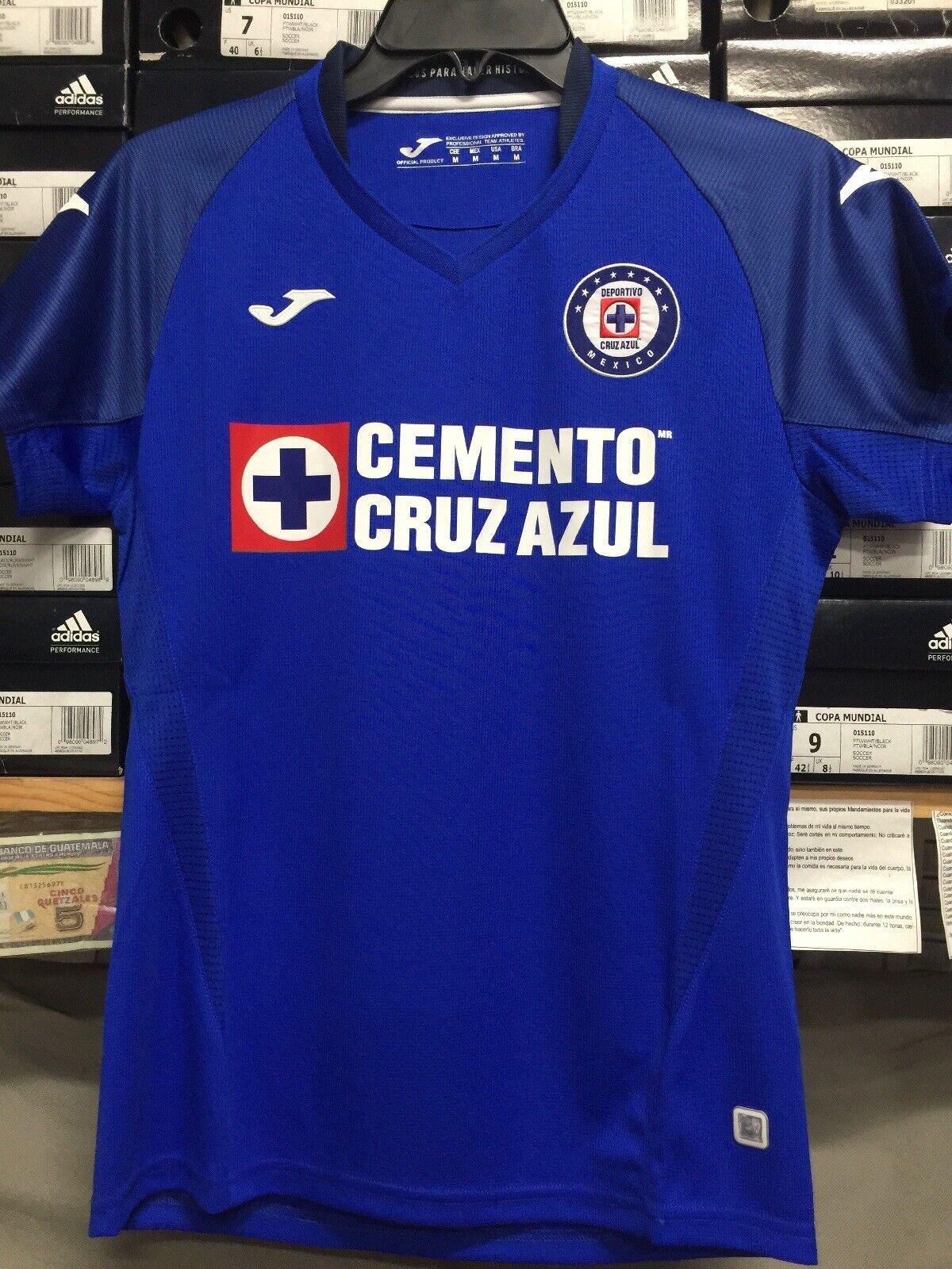Joma Cruz blauw Womannens Jersey 19 20 Playera De vrouw De Cruz blauw afmeting Medium