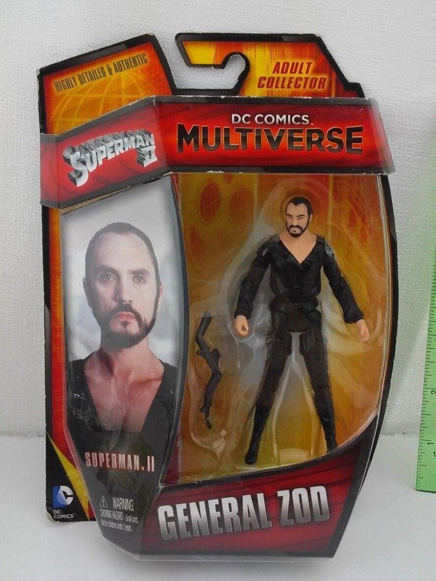 BHD35 DC Comics Multiverse 4 Basic Figure General Zod Superman II
