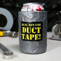 Duct Tape real Looking Beer Insulated Foam Cooler Prescription Real Men Use