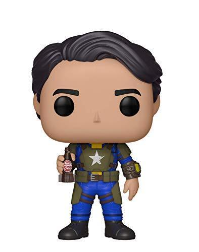 Multi Funko 33974 POP Vinyl Games Fallout S2 Vault Dweller Male