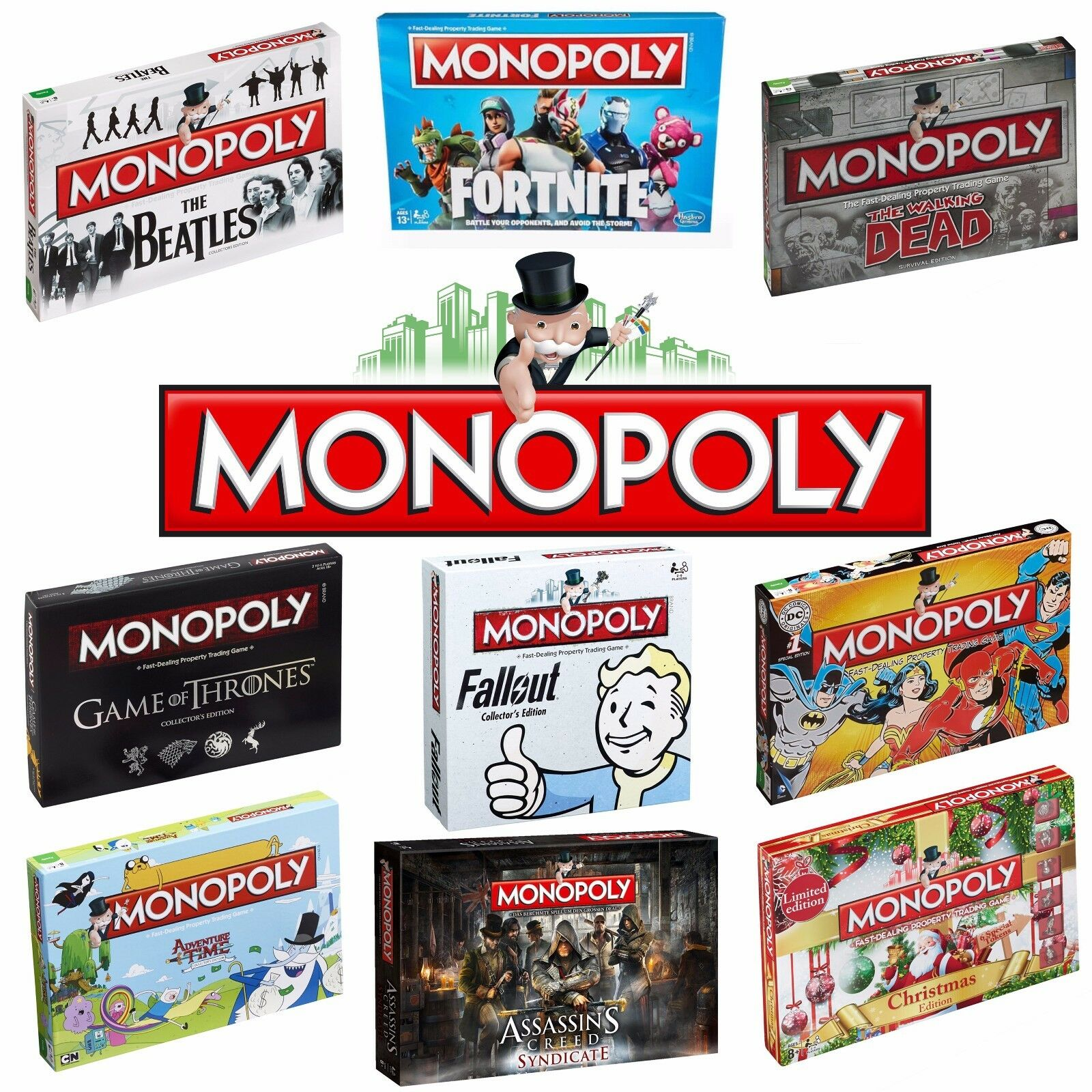 MONOPOLY - Perfect Family Game - Choose from 70+ Special Editions