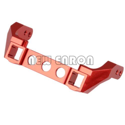 Red Aluminum Heavy Duty Pare-Chocs Arrière Montage pour 1//10 Contrôle Radio Traxxas TRX-4 TRX4 #8237