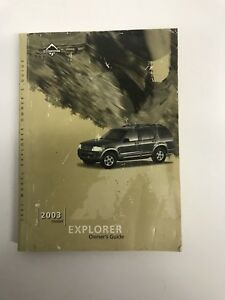 2003 ford explorer owners manual ebay rh ebay com ford explorer owners manual 2004 ford explorer owners manual 2004