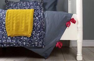 Cot-Blanket-baby-toddler-newborn-playmat-100-cotton-Garbo-amp-Friends-Mares-Dark