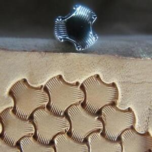 Leather-Stamping-Tool-E684-S-Small-Tri-Weave-Stamp