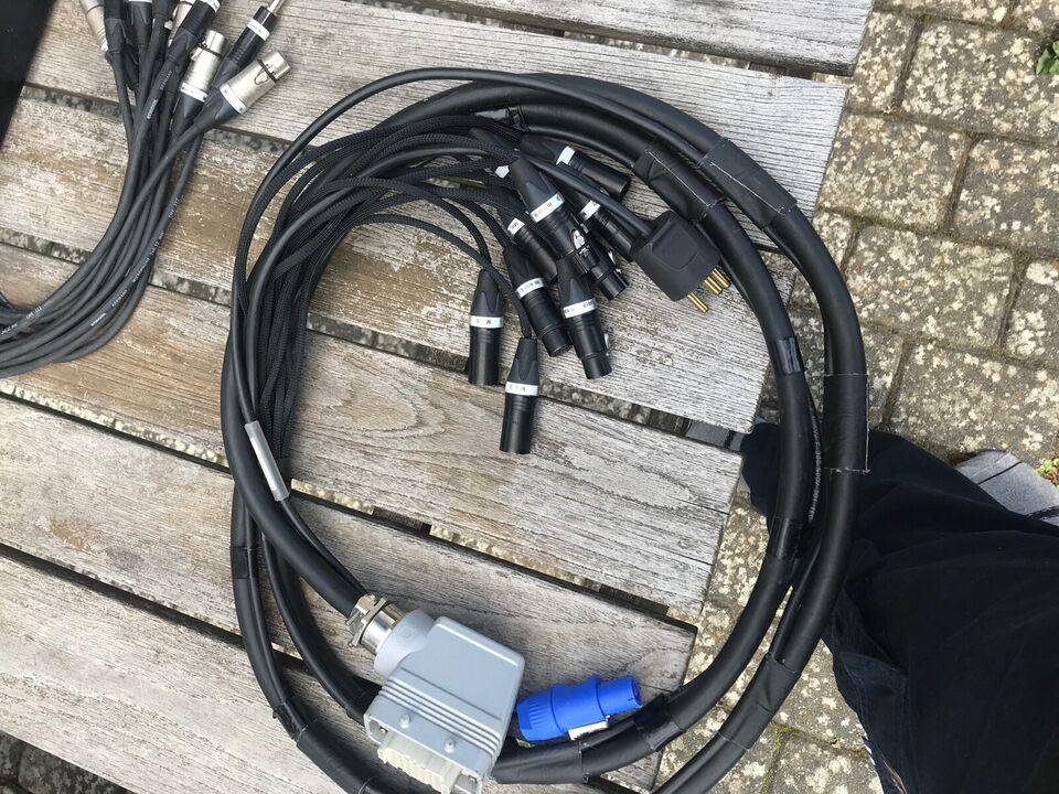 10 Kanals hartning multikabel, Coridal + Neutrik