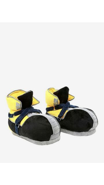 Disney Kingdom Hearts Sora Plush Slippers Small Size 5/6