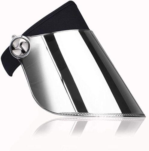 Face Shield Sun Visor Comfortable Adjustable Headband Sun UV Face Protection
