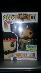Funko-Pop-Asia-Street-Fighter-Hot-Ryu-w-Pop-Protector