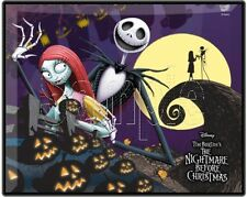 """Nightmare Before Christmas 8""""x10"""" Fabric Quilt Block Quilting Sewing Square #11"""