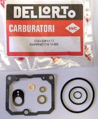 DELLORTO VHSB MOTORCYCLE CARBURETTOR GASKET SET **part number 52612**