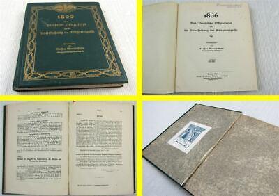 1806 Das Preußische Offizierskorps Und Die Untersuchung Der Kriegsereignisse PüNktliches Timing
