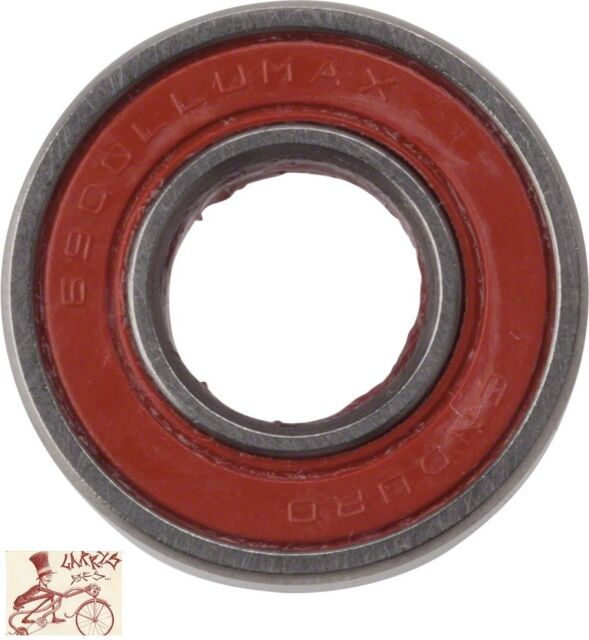 Enduro Max Cartridge Bearing 6800 2RS 10X19X5mm with Precision Grade 10 Balls