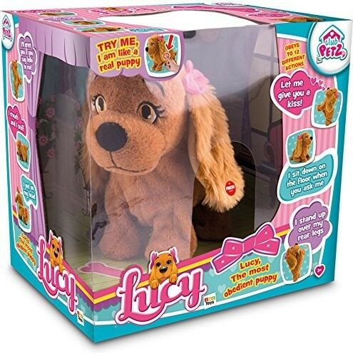 Lucy The Dog Electronic Toy Voice controlled Girls Doggy Electronic Pet Gift